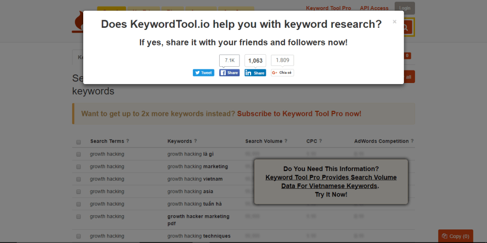 keyword-tool-gh