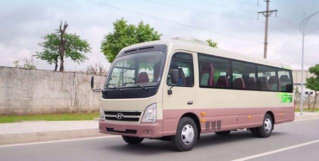 Cho thuê xe 29 chỗ ngồi tại TPHCM 04/08/2021