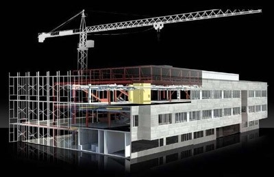 Mô hình thi công xây dựng