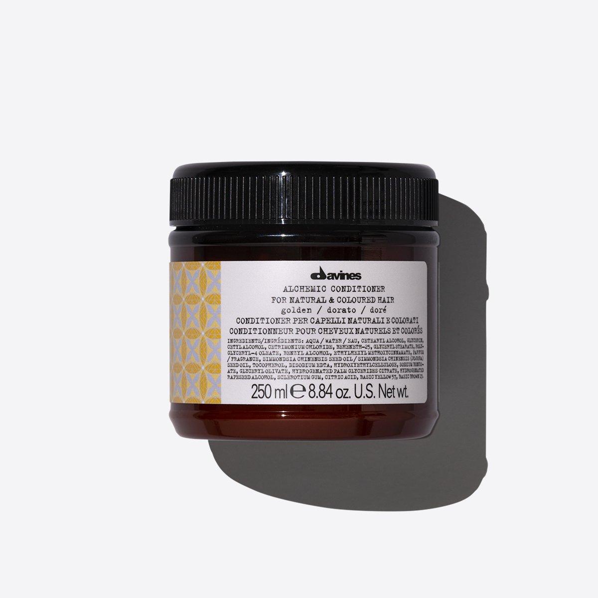 blonde maintenance columbus ohio product: davines alchemic golden conditioner