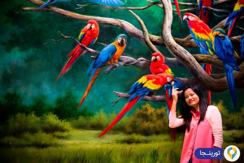 گالری هنر در بهشت در پاتایا