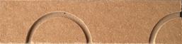 Figure 2-3 : Plaque isolante Caleosol Tradi U - épingles seules