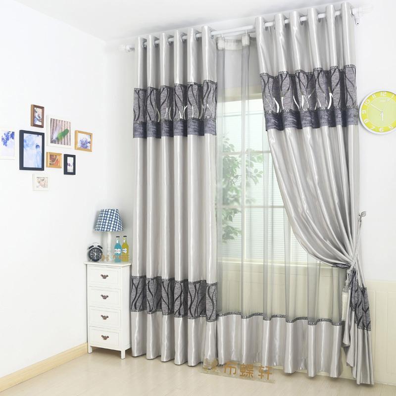 Rèm cửa may bằng vải lụa cho không gian thêm sang trọng, hiện đại