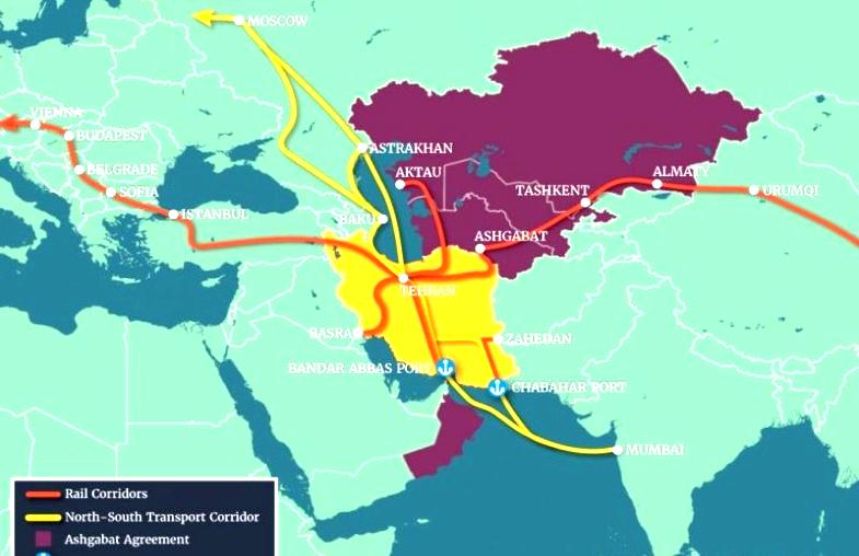 نقش منطقه آزاد چابهار در تغییر ژئوپلیتیک اوراسیا