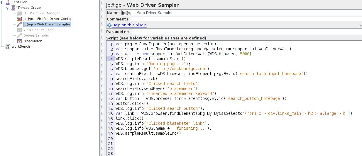 Running Selenium scripts with JMeter - Intellipaat Community