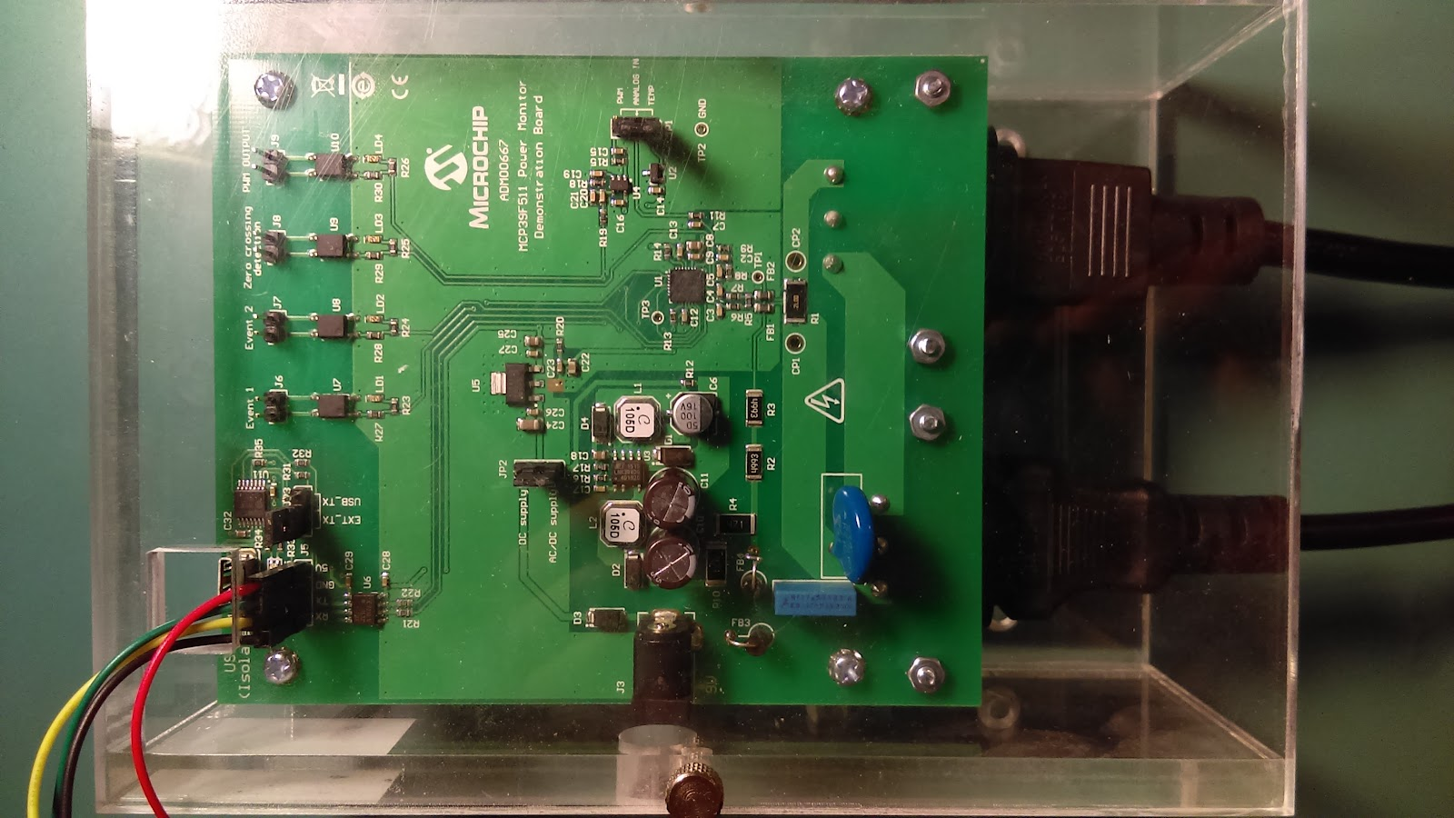 Kas Embedded Projects And Review Figure 3 I Add Buzzer Sound Circuit For Alarm When Detect Acvolts These Values Include Line Voltage Current Power Factor Energy Counters Among Others This Project The Calibration Tuning Variables Were Left