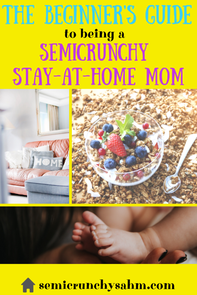 semicrunchy stay at home mom guide