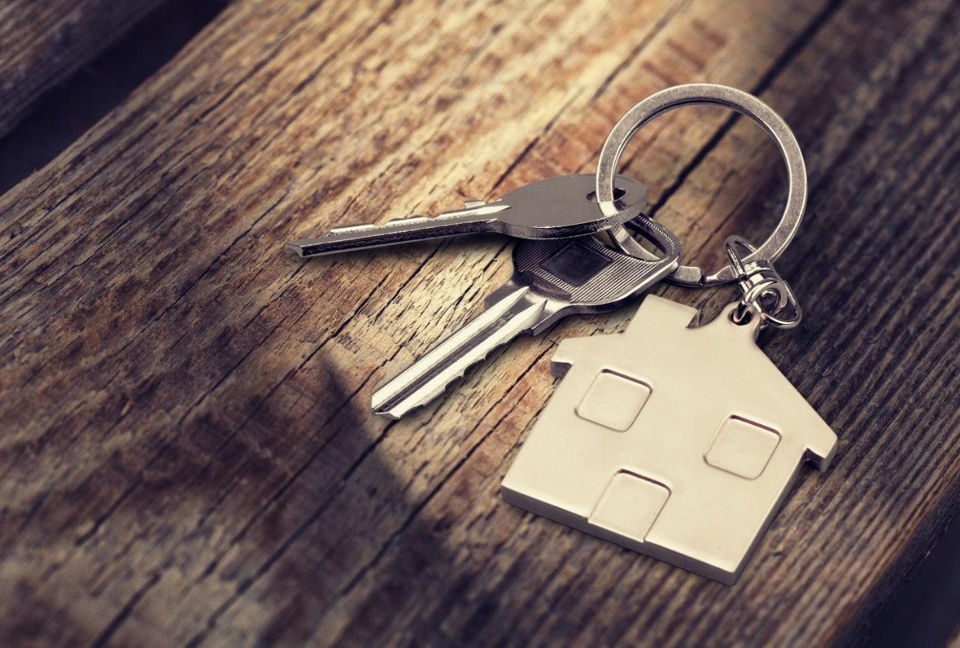 Keys representing a landlord