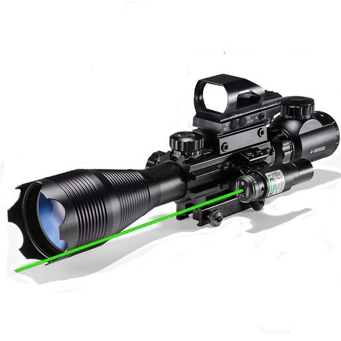 XOPin Hunting Rifle Scope Combo