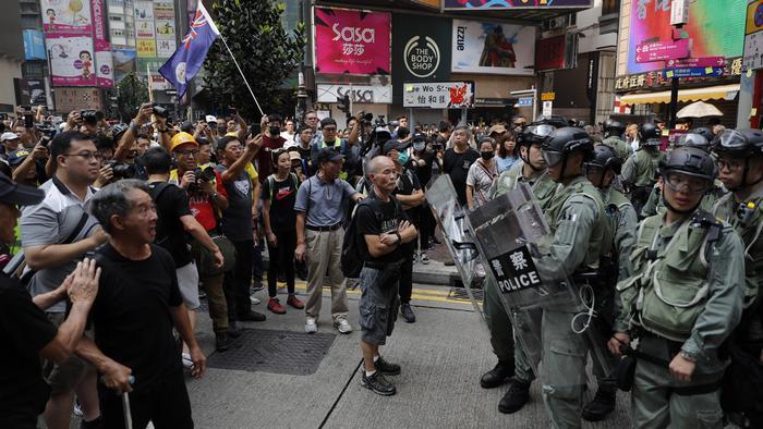 70 años de Comunismo en China contrastan con las protestas de  Hong Kong