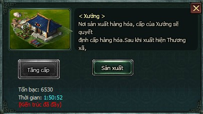 Sản xuất trong Webgame hay Ngọa Long