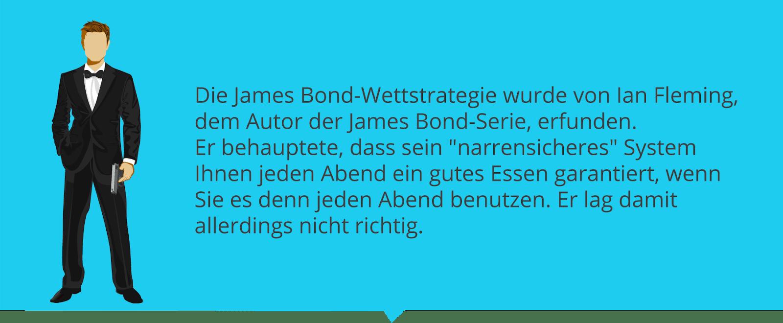 James Bond Wettstrategie