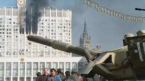 Billedresultat for yeltsin and the russian parliament