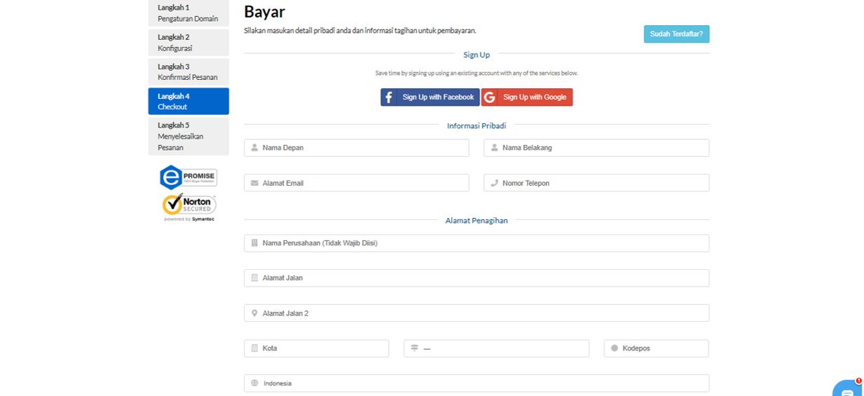 6 Cara Mudah Mendaftar Domain di Exabytes Mendaftar Domain di Exabytes