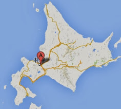 アサヒビール北海道工場・地図