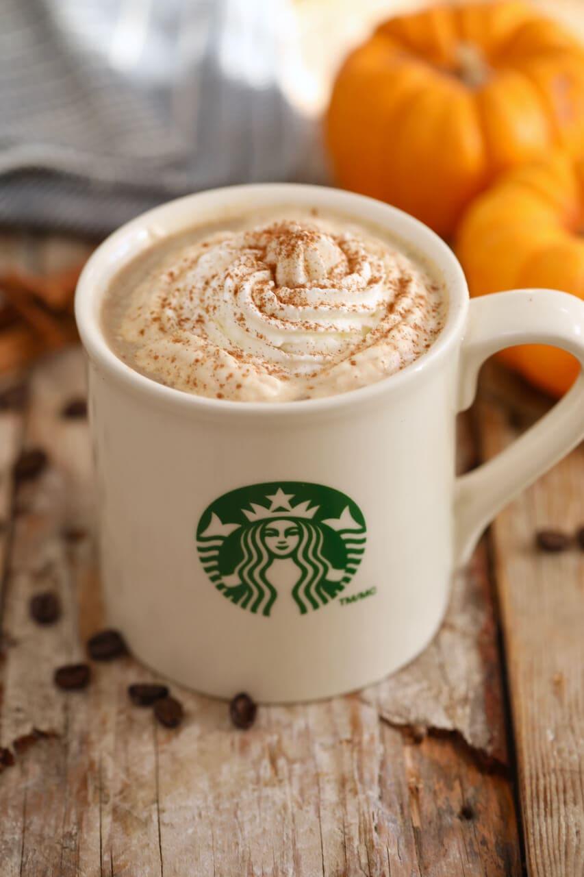 Pumpkin Spiced Holiday Latte