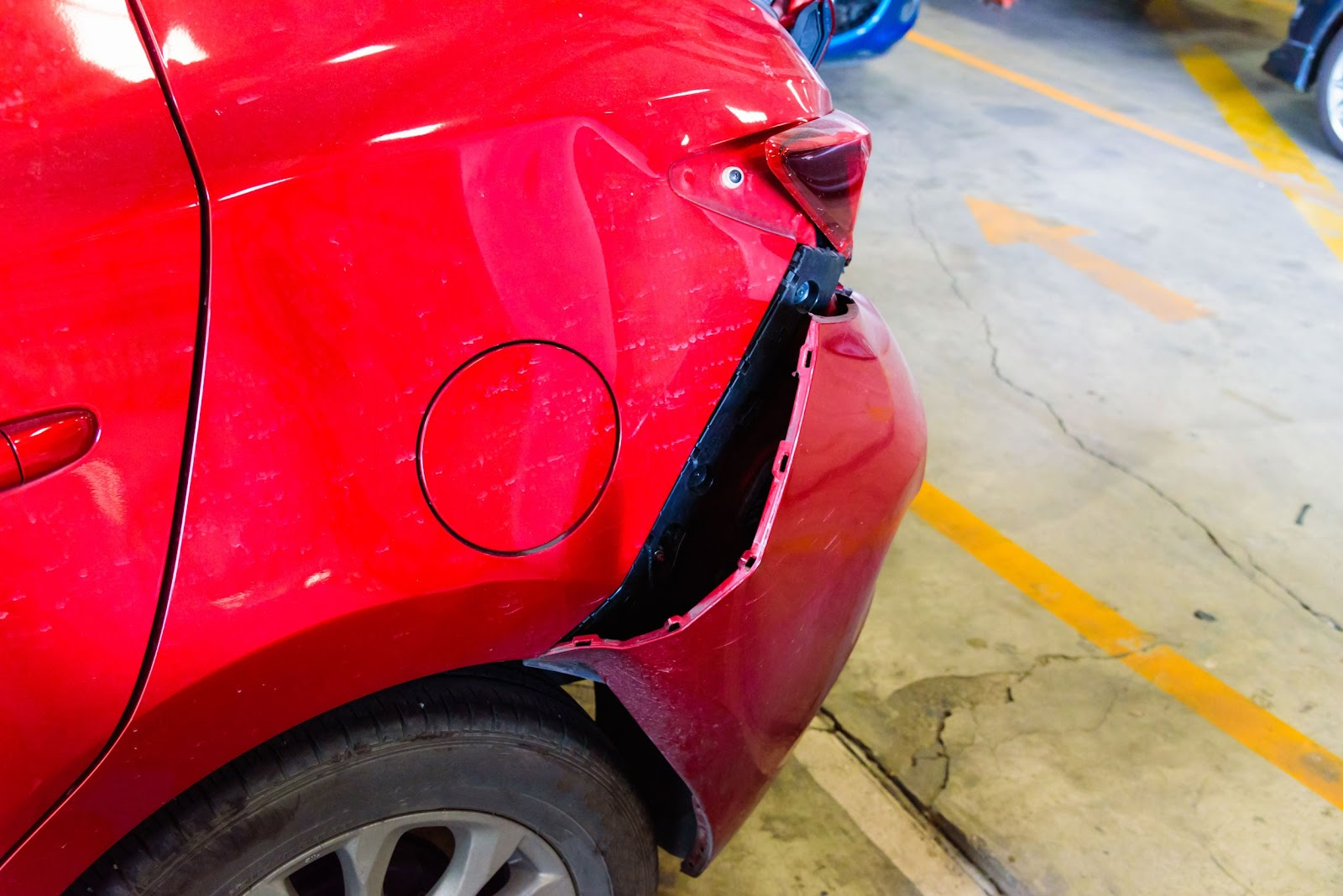 Parking Lot Crashes: How They Happen and What to Do in Florida