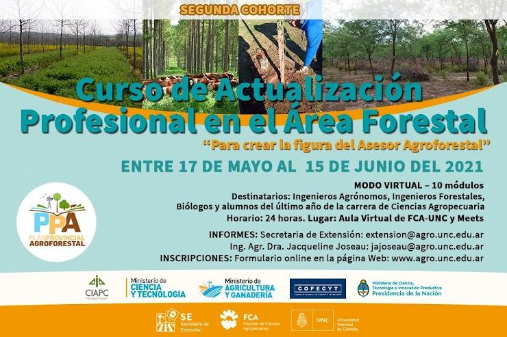 2da. Cohorte - Curso de Actualización en el Área Forestal 2021
