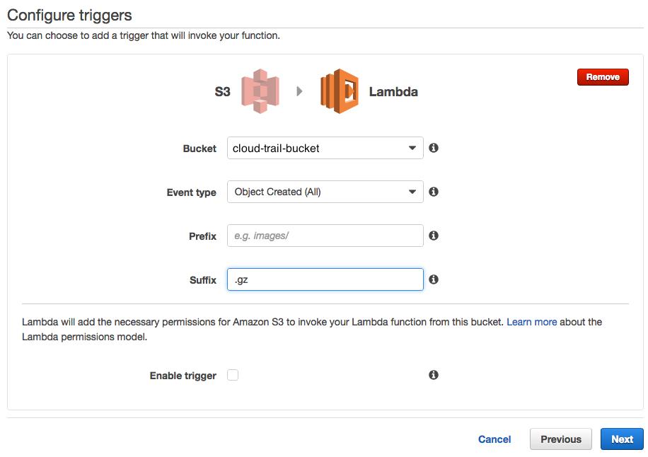 DevOps tips and tricks: Lambda, ELK and CloudTrail logs