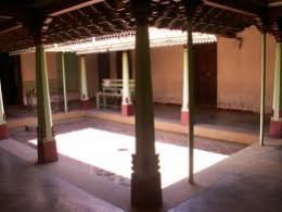 A typical mutram (open courtyard inside a village house)