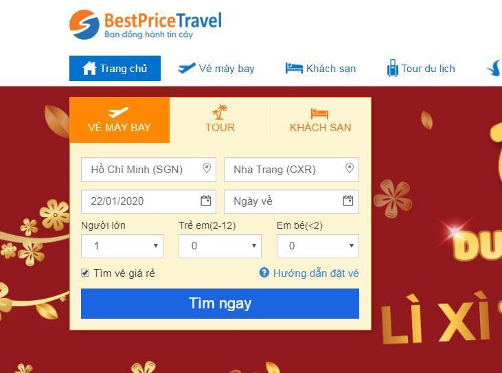 Đơn giản để săn vé máy bay giá rẻ trên BestPrice