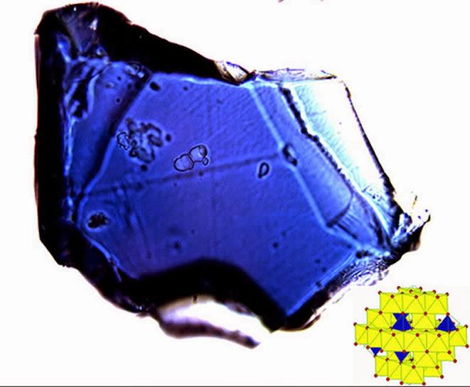 Mineral de Ringwoodita -  Nesocilicatos