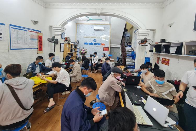 Hình ảnh tại chi nhánh số 5 ngõ 178 Thái Hà