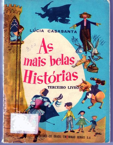 """Capa de """"As mais belas histórias"""", terceiro livro, de Lucia Casasanta"""