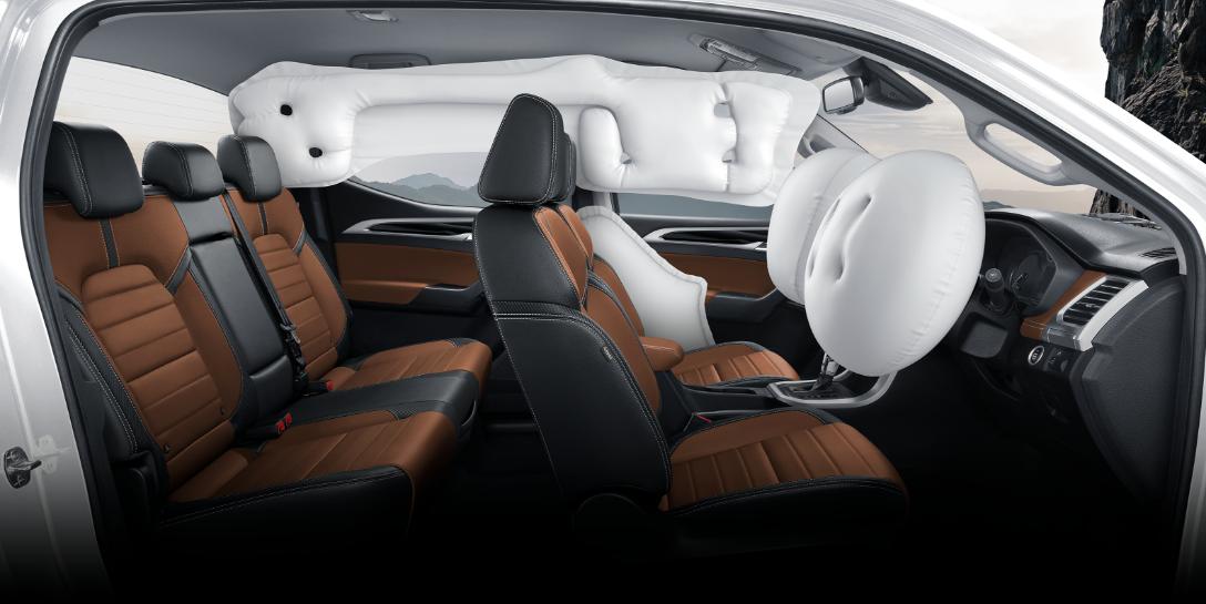 ระบบความปลอดภัยของรถยนต์ : MG Extender Double Cap