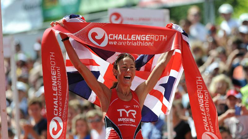 Крисси Веллингтон на триатлоне Challenge Roth