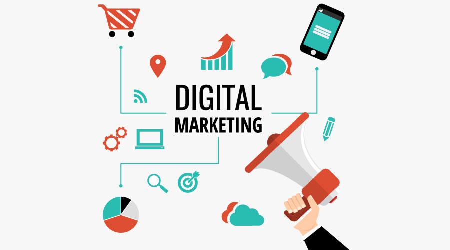 Digital marketing là gì? (cre: Web Design Eire)