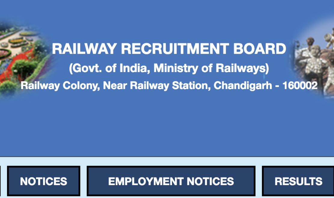 Railway Recruitment Board Website