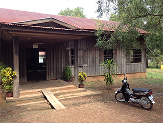 photo of a Cambodian clinic