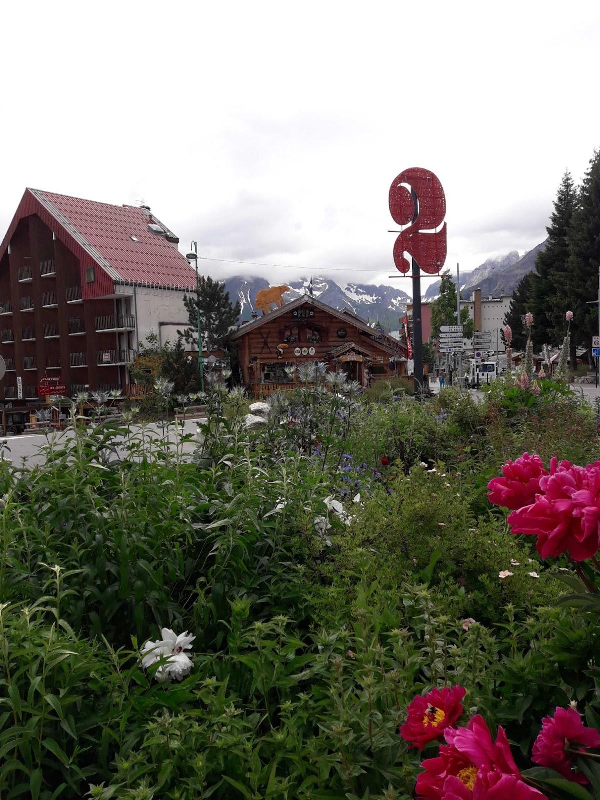 Pueblo de Les 2 Alpes