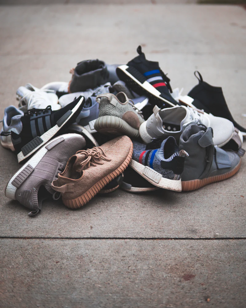 Bunch of shoes