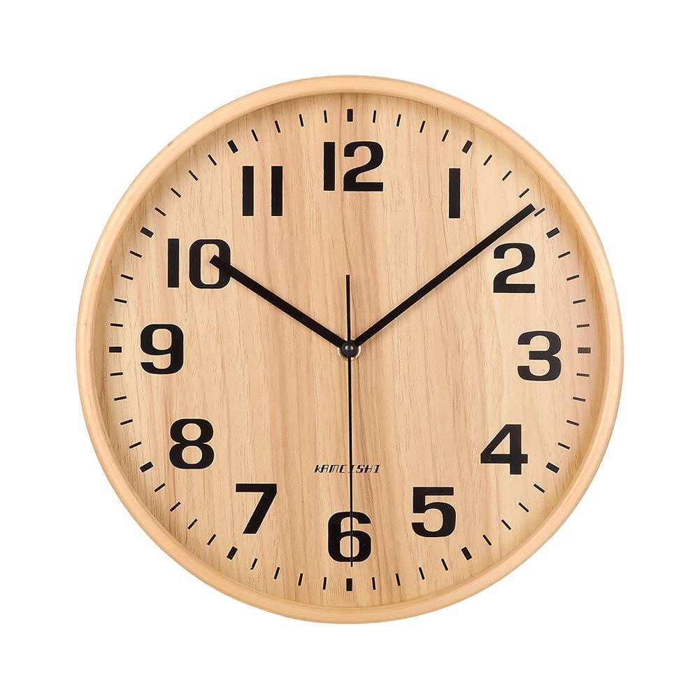 Scandinavian Style Wooden Clock