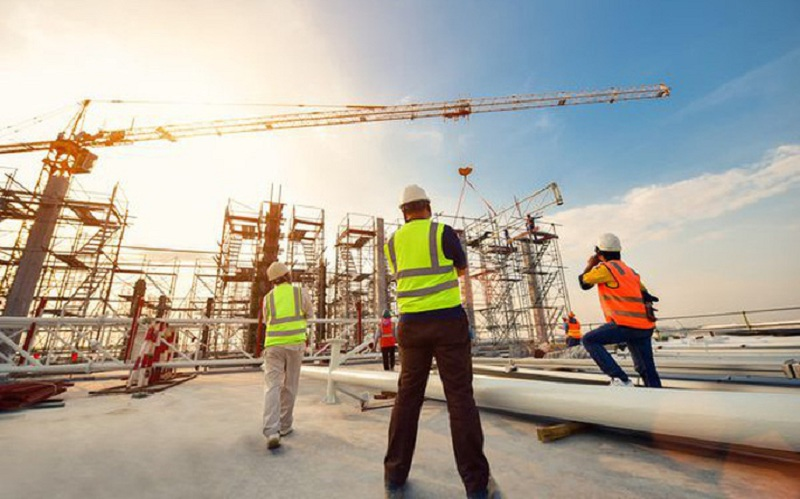 Ngành xây dựng là ngành nghề có xu hướng phát triển mạnh tại các khu vực ven đô thị