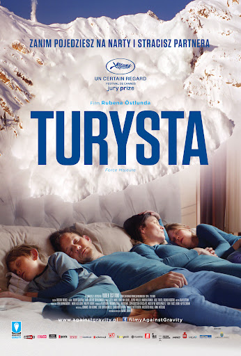 Przód ulotki filmu 'Turysta'