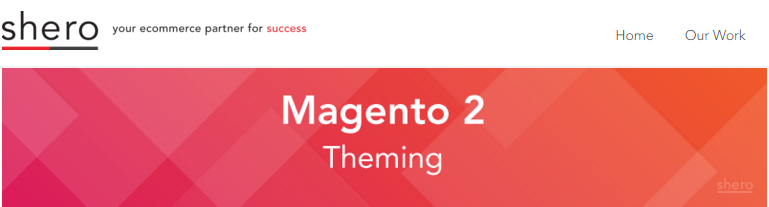 Magento 2 Theming