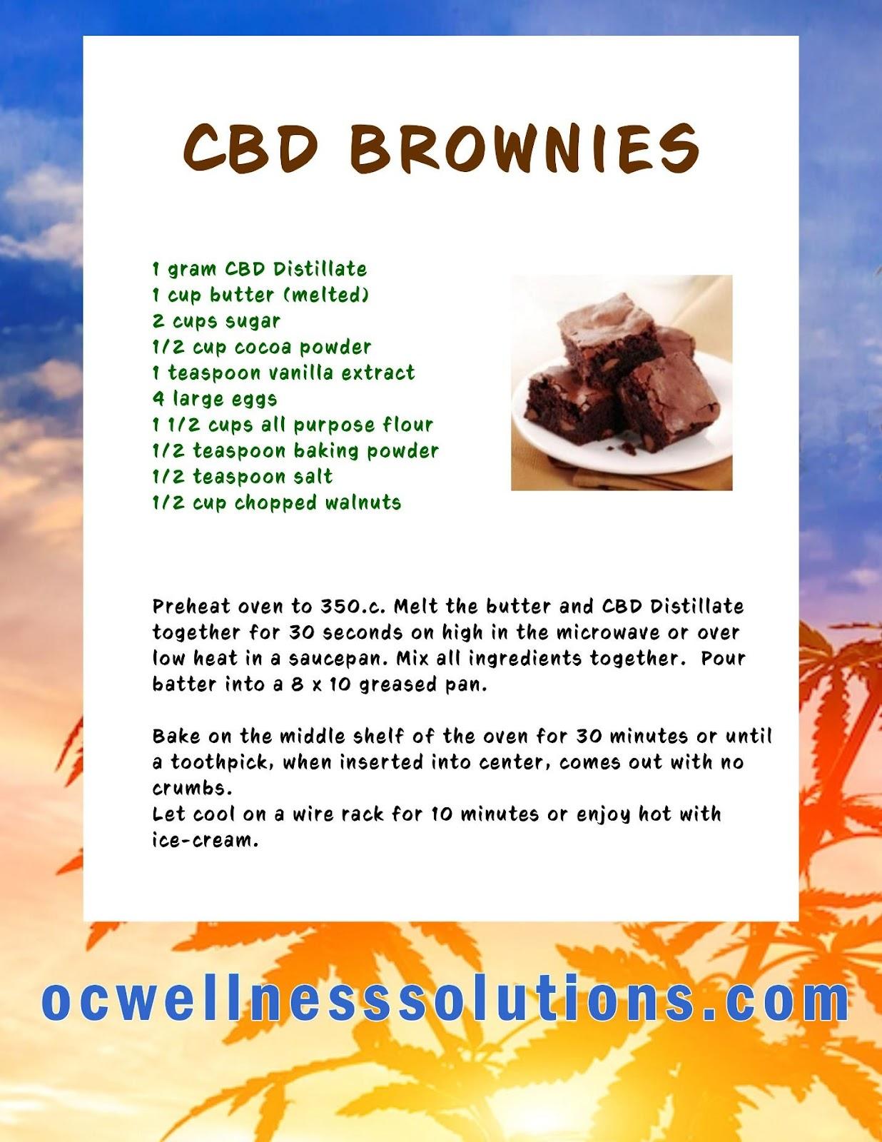 DIY CBD Brownie recipe