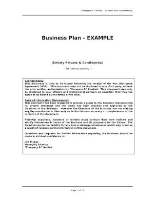 sports academy business plan
