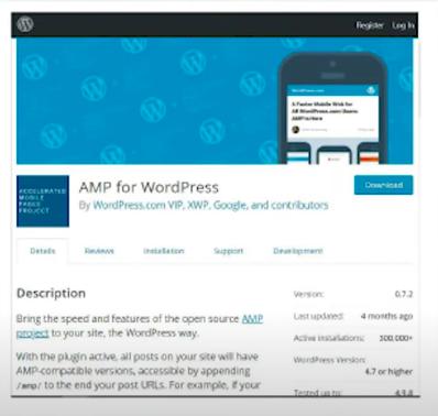 Плагин AMP для WordPress
