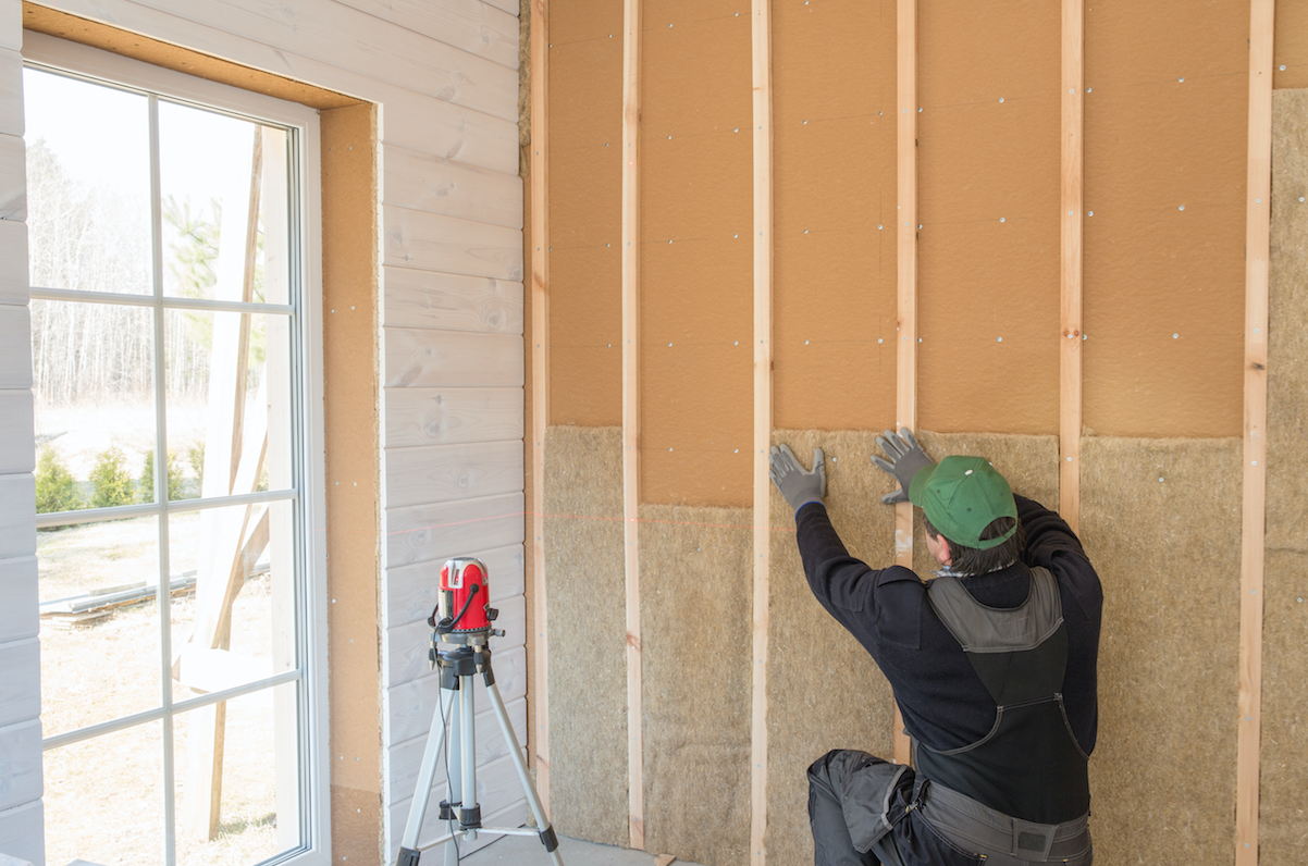 insulating a garage conversion