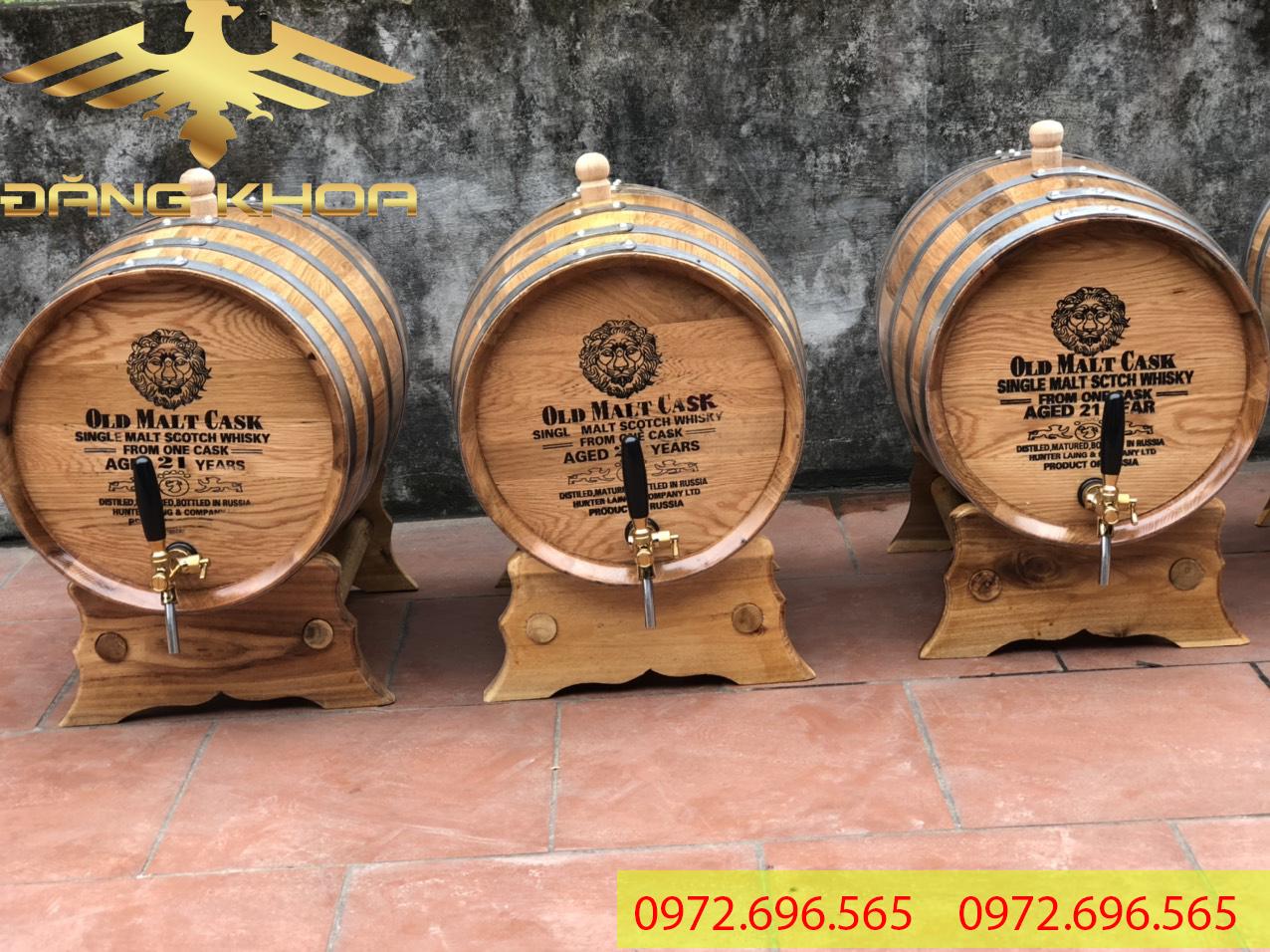 Chất liệu gỗ sồi sản xuất đạt chuẩn