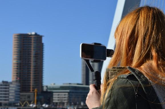 Cardán, Zhiyun, Tecnología, Rotterdam, Película, Video