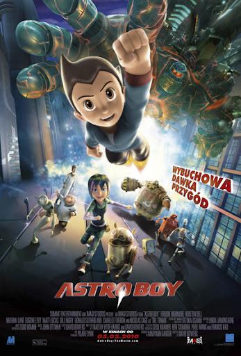 Polski plakat filmu 'Astro Boy'