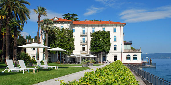 This is a photo of Hotel Bella Riva on Lake Garda.