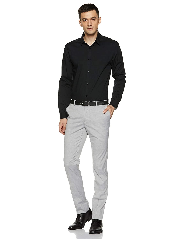 Slim Fit Trousers For Men