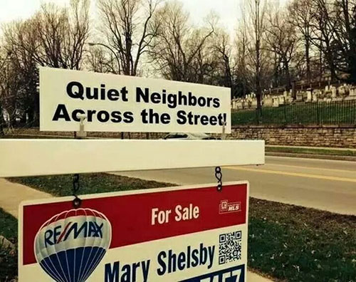 real estate sign riders