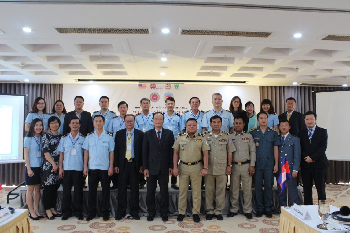 Technical meeting between Viet Nam and Cambodia on